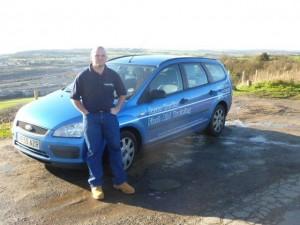 Jason and car